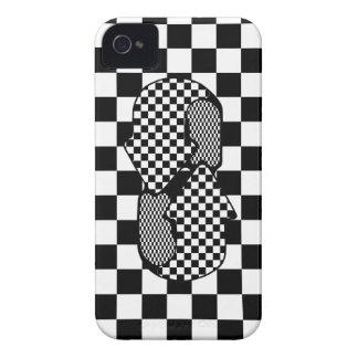 Capa de iphone 4 de Checkerbord