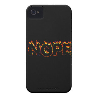 """Capa de iphone 4 de """"Nope"""""""