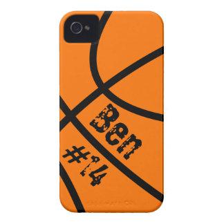 Capa de iphone 4 do basquetebol capas para iPhone 4 Case-Mate