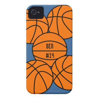 Capa de iphone 4 do basquetebol capinha iPhone 4