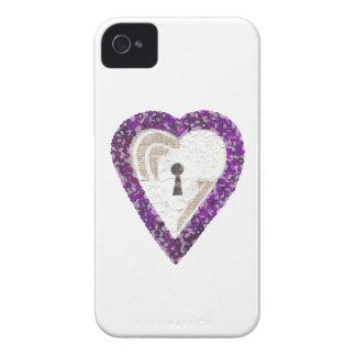 Capa de iphone 4 do coração do cacifo
