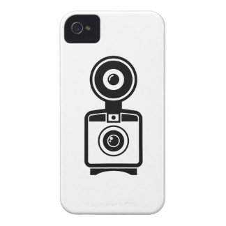 Capa de iphone 4 do pictograma da câmera do capa para iPhone 4 Case-Mate