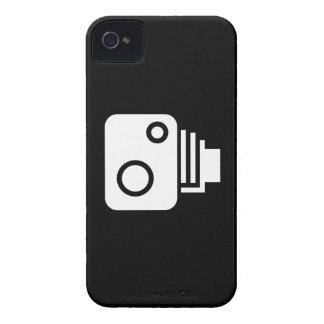 Capa de iphone 4 do pictograma da câmera do capas para iPhone 4 Case-Mate