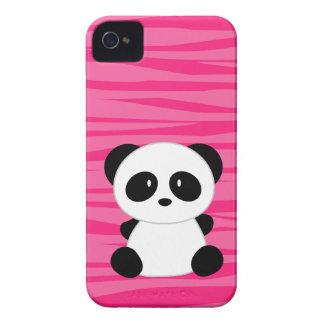 Capa de iphone 4 do rosa da panda do impressão da capinha iPhone 4
