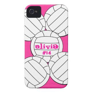 Capa de iphone 4 do voleibol capas para iPhone 4 Case-Mate