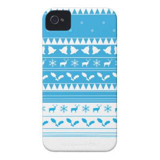 Capa de iphone 4 do White Christmas da neve Capa Para iPhone