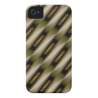 Capa de iphone 4 elegante original do teste padrão capas para iPhone 4 Case-Mate