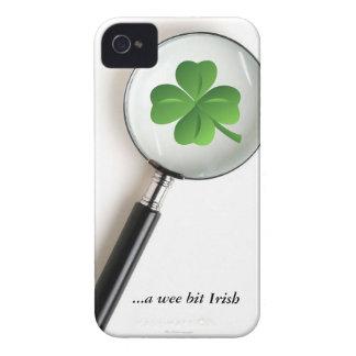 Capa de iphone 4 engraçado do cobrir da folha do capinha iPhone 4