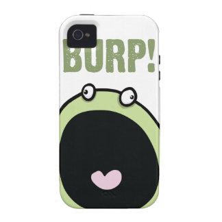 Capa de iphone 4 engraçado do monstro do Burp Capa Para iPhone 4/4S