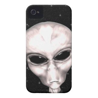 Capa de iphone 4 estrangeiro cinzento do espaço capas para iPhone 4 Case-Mate