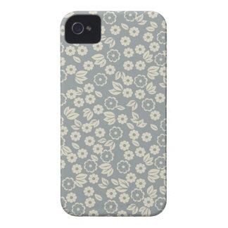 capa de iphone 4 floral retro do tecido