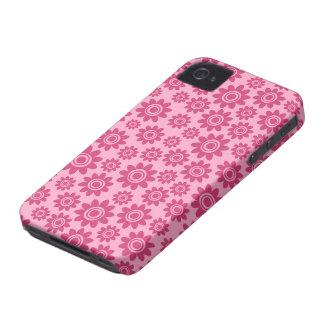 Capa de iphone 4 lunático cor-de-rosa do teste capinha iPhone 4