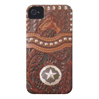 Capa de iphone 4 ocidental do cavalo selvagem capa para iPhone