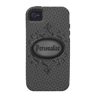 Capa de iphone 4 personalizado do vintage damasco capa para iPhone 4/4S