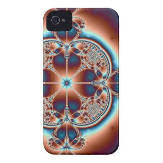Capa de iphone 4 psicadélico do ~ de 7 corações capa para iPhone