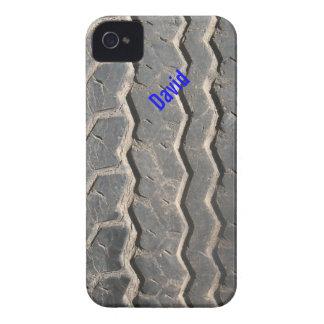 Capa de iphone 4 sujo do costume do passo do pneu
