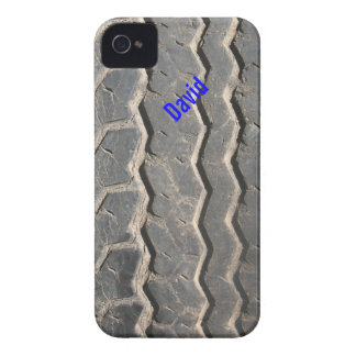 Capa de iphone 4 sujo do costume do passo do pneu capas para iPhone 4 Case-Mate