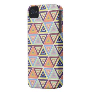 capa de iphone 4 triangular do azulejo do teste