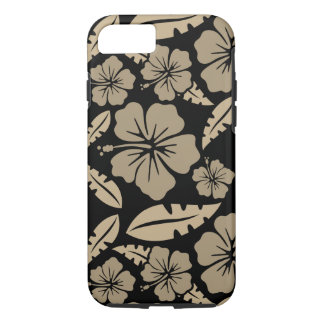 Capa de Iphone 8 Flores Negras do Havai