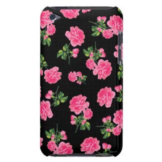 Capa de ipod cor-de-rosa dos rosas do vintage - capa para iPod touch