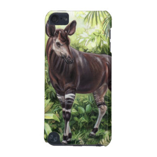 Capa de ipod do Okapi da selva