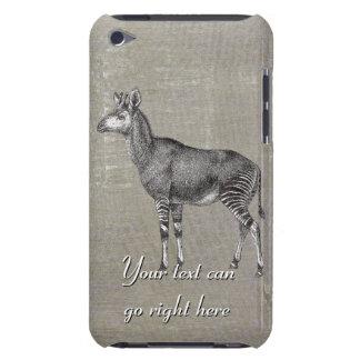 Capa de ipod do Okapi do vintage