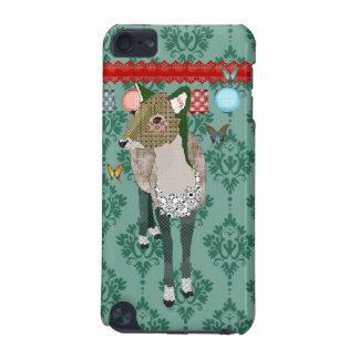 Capa de ipod dos cervos do jade capa para iPod touch 5G