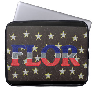 Capa de Laptop Estrelada - Flor - 15 Polegadas Capa Para Notebook