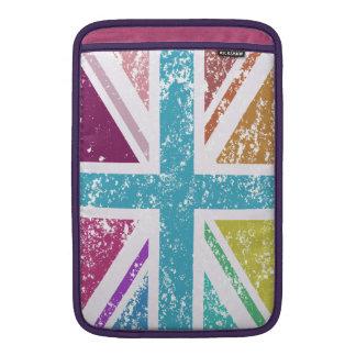 Capa De MacBook Air Bandeira de união afligida colorido