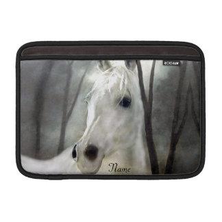 Capa De MacBook Air Cavalo branco