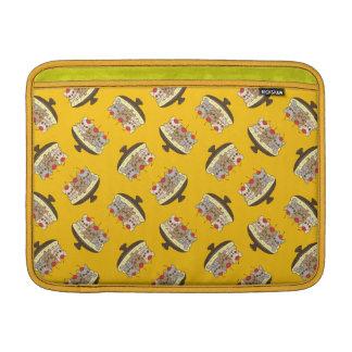 Capa De MacBook Air Estes Frenchies querem ser sua separação de banana