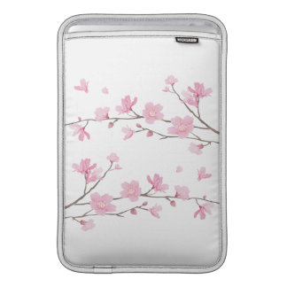 Capa De MacBook Air Flor de cerejeira - fundo transparente