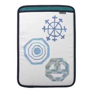 Capa De MacBook Air Luva de ar especial de Macbook do floco de neve