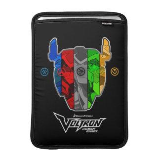 Capa De MacBook Air Pilotos de Voltron | na cabeça de Voltron
