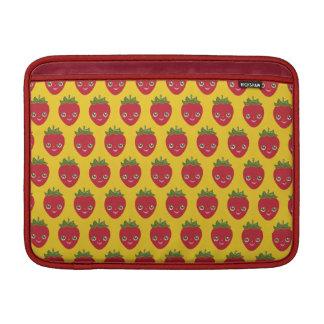 Capa De MacBook Air Skullberry, morango doce que tem o trapaceiro ido