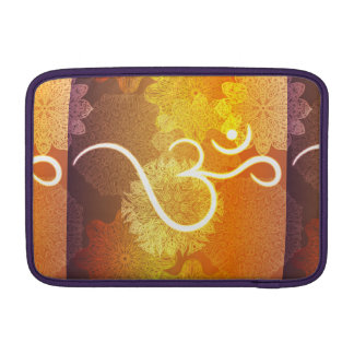 Capa De MacBook Air Teste padrão indiano do ornamento com símbolo do