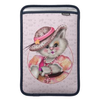 """Capa De MacBook Ar 11"""" da SENHORA CAT BONITO DESENHOS ANIMADOS"""