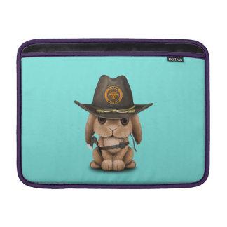 Capa De MacBook Caçador do zombi do coelho do bebê