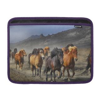 Capa De MacBook Cavalos Stampeding