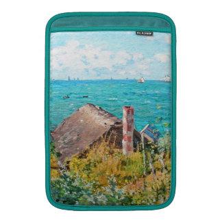 Capa De MacBook Claude Monet a cabine em belas artes do
