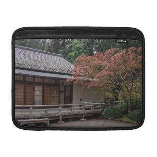 Capa De MacBook Cores da queda no jardim