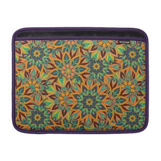 Capa De MacBook Design floral do teste padrão do abstrato da