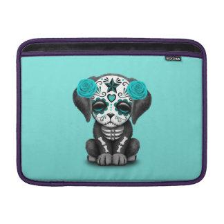 Capa De MacBook Dia azul do cão de filhote de cachorro inoperante