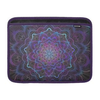 Capa De MacBook Flor de Chakra, boho, idade nova, espiritual
