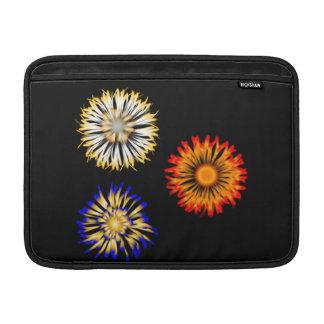 Capa De MacBook Flores abstratas