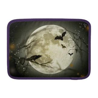 Capa De MacBook Lua do Dia das Bruxas - ilustração da Lua cheia