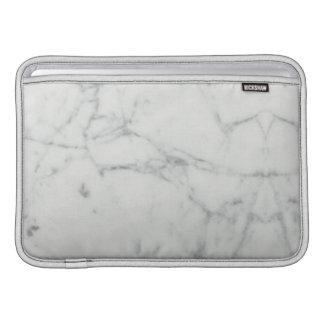 Capa De MacBook Luva de ar de pedra de mármore de Macbook da
