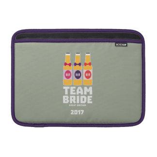 Capa De MacBook Noiva Grâ Bretanha da equipe 2017 Zqqh7