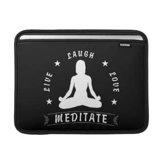 Capa De MacBook O amor vivo do riso Meditate o texto fêmea