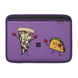 Capa De MacBook Pizza de Pepperoni CONTRA o Taco: Mexicano contra